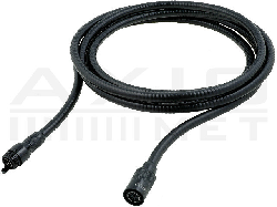 Exchangeable extension cable for video boroscopes