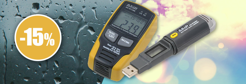 Environmental meters up to 15% off