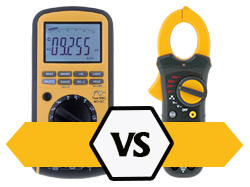 A multimeter or a current clamp meter?