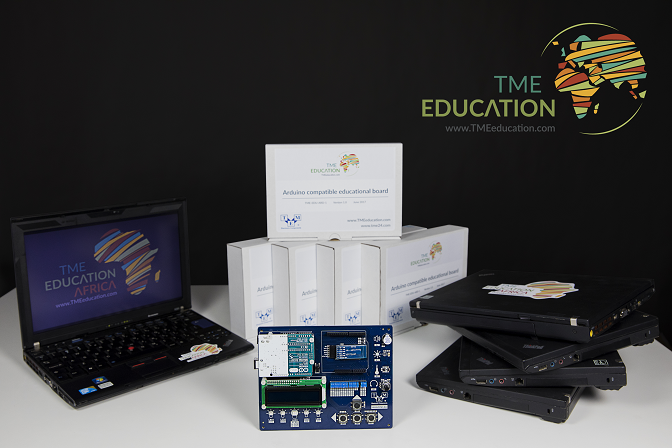We have just sent the first Educational kit to Tanzania!