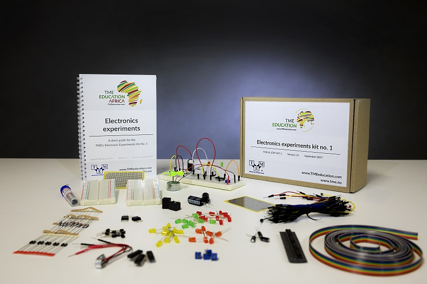 TME's Electronics Experiments Kit vol. 1<br>- a new educational set from TME Education!