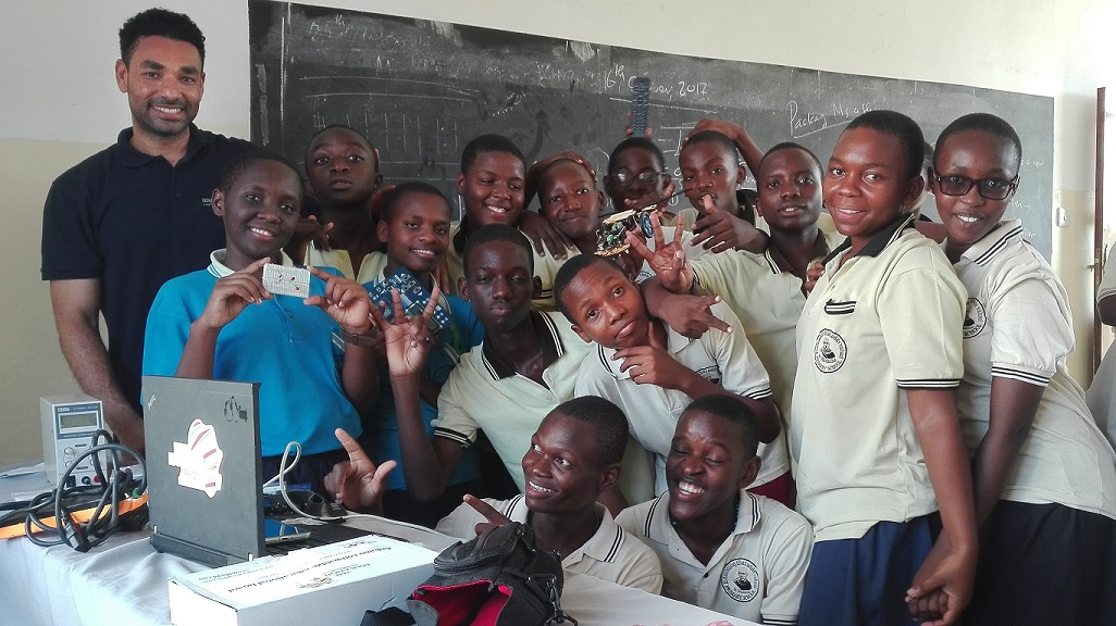 TME Education workshops in St. Maximilian Primary and Secondary School, Tanzania.