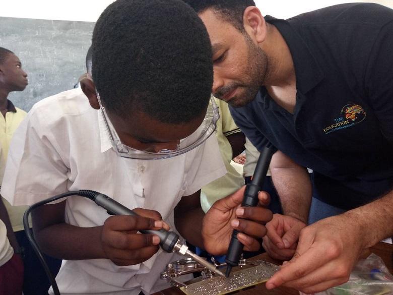 TME Education training on soldering