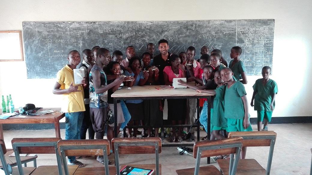 TME Education visits St John Paul II Technical Institute in Kakooge, Uganda.