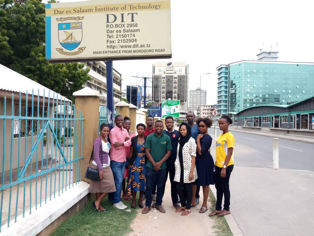 TME Education training in Dar Es Salaam Institute of Technology, Tanzania