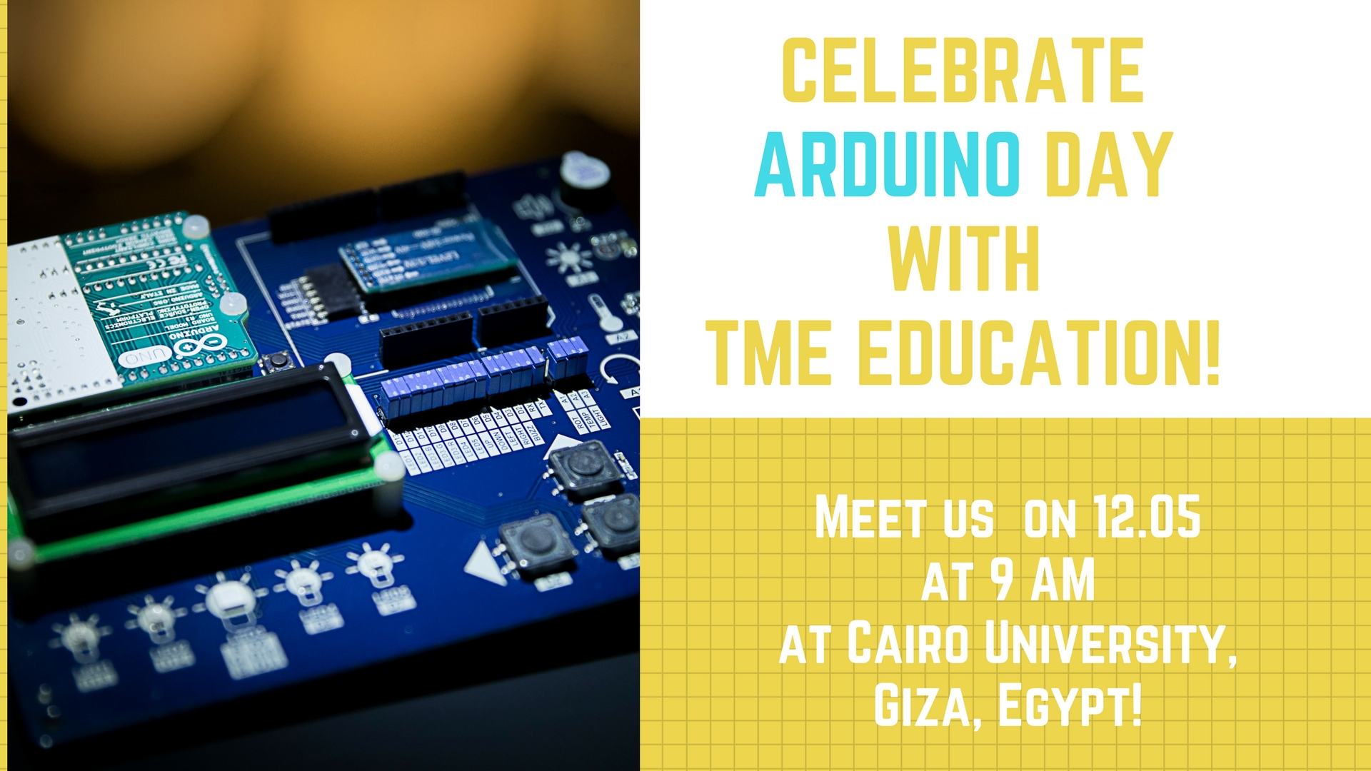 Arduino birthday! Let's celebrate it together in Egypt!