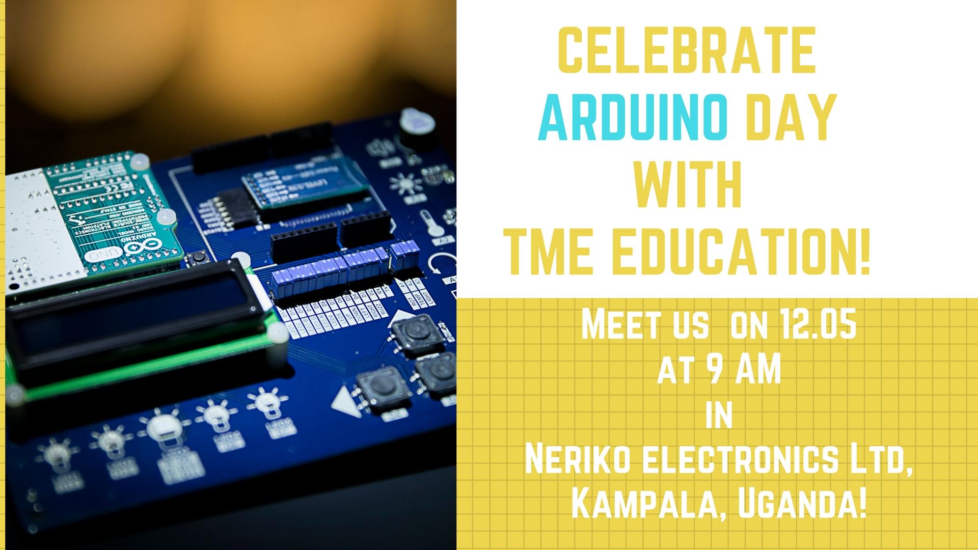 Arduino birthday! Let's celebrate it together in Uganda!