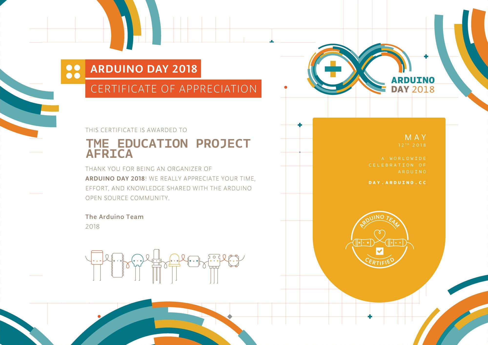 Arduino Day 2018 celebrations in Uganda!