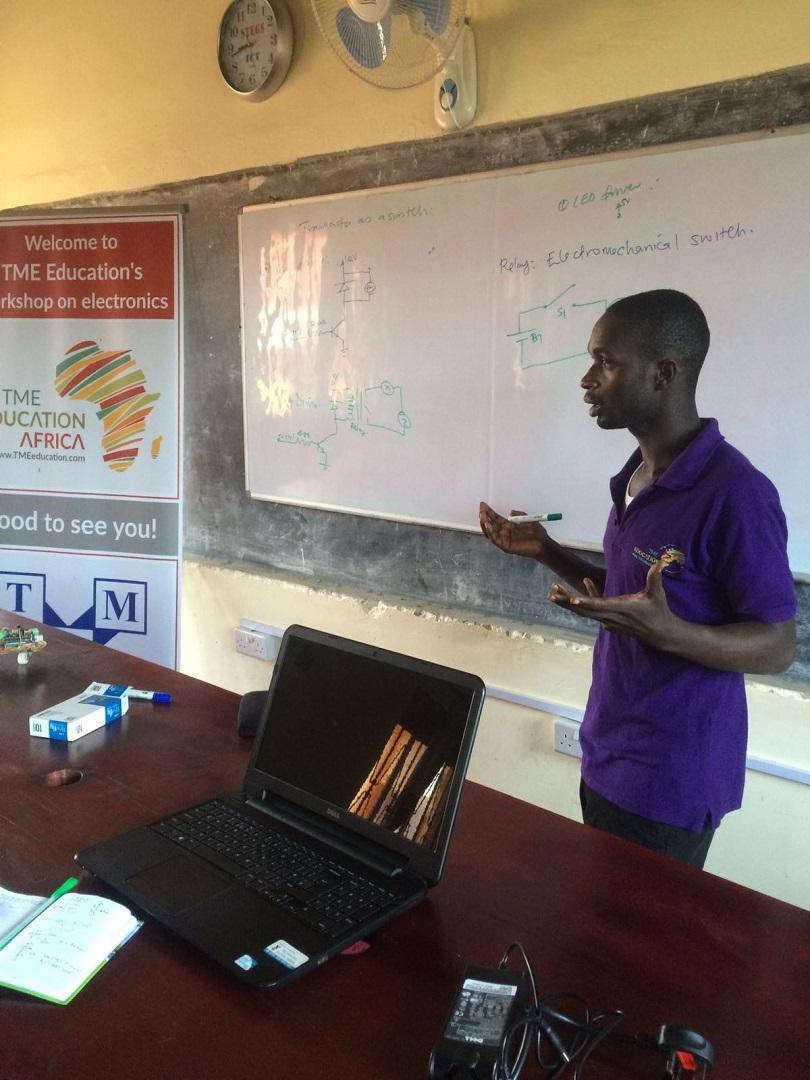 Teacher training at St Elizabeth Girls School -Mityana, Uganda.