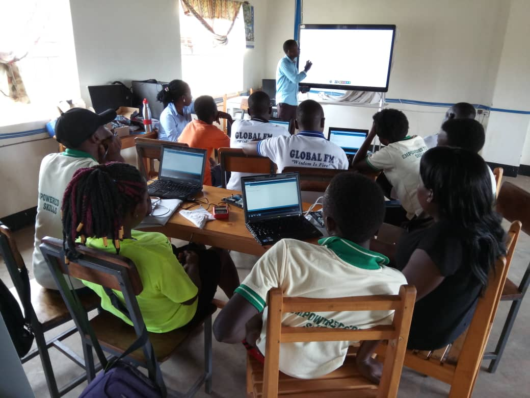 Report: Staff training at St. John Paul II Technical Institute in Kakooge, Uganda.