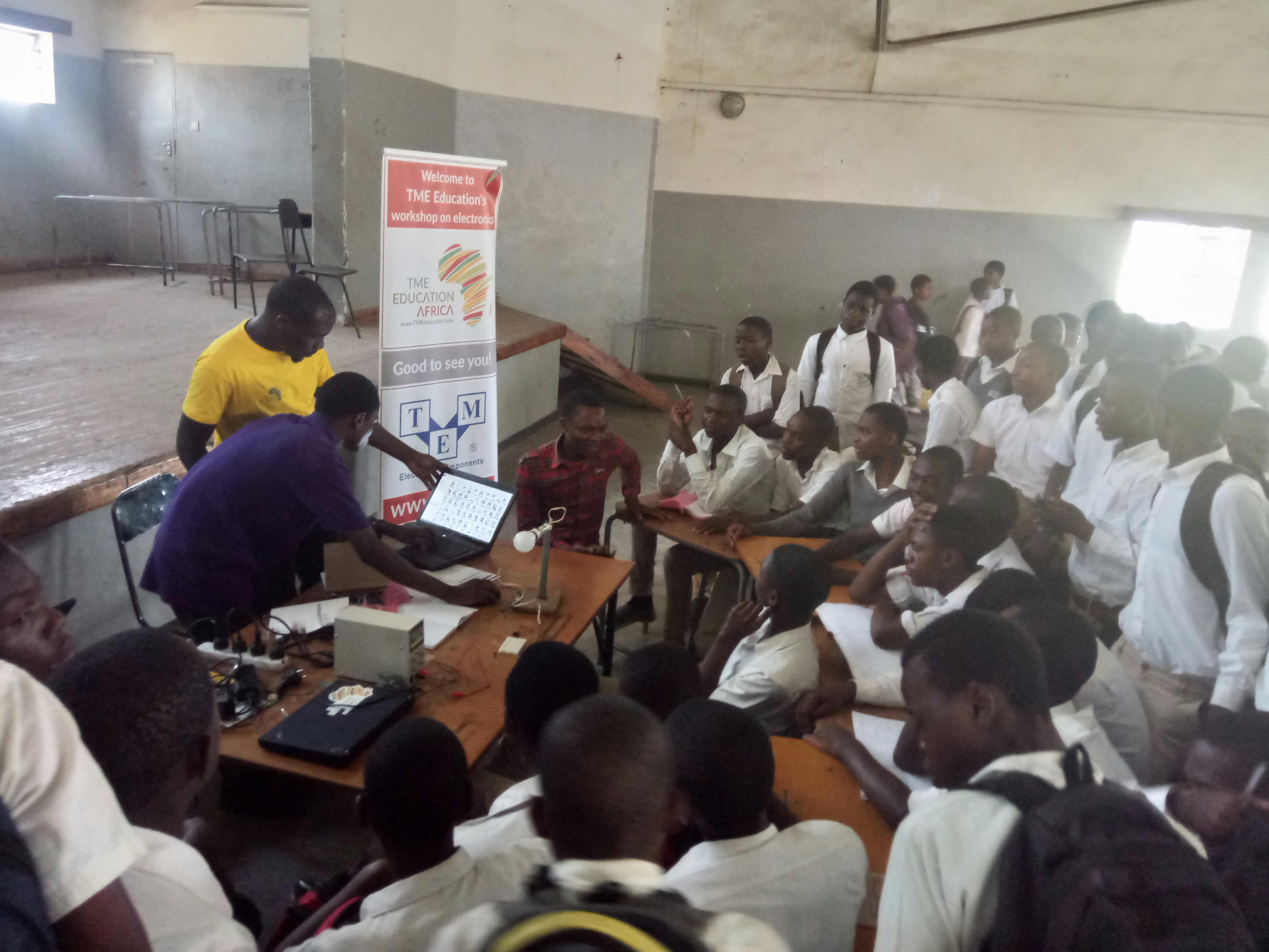 TME Education training at Bangwe Day Secondary School