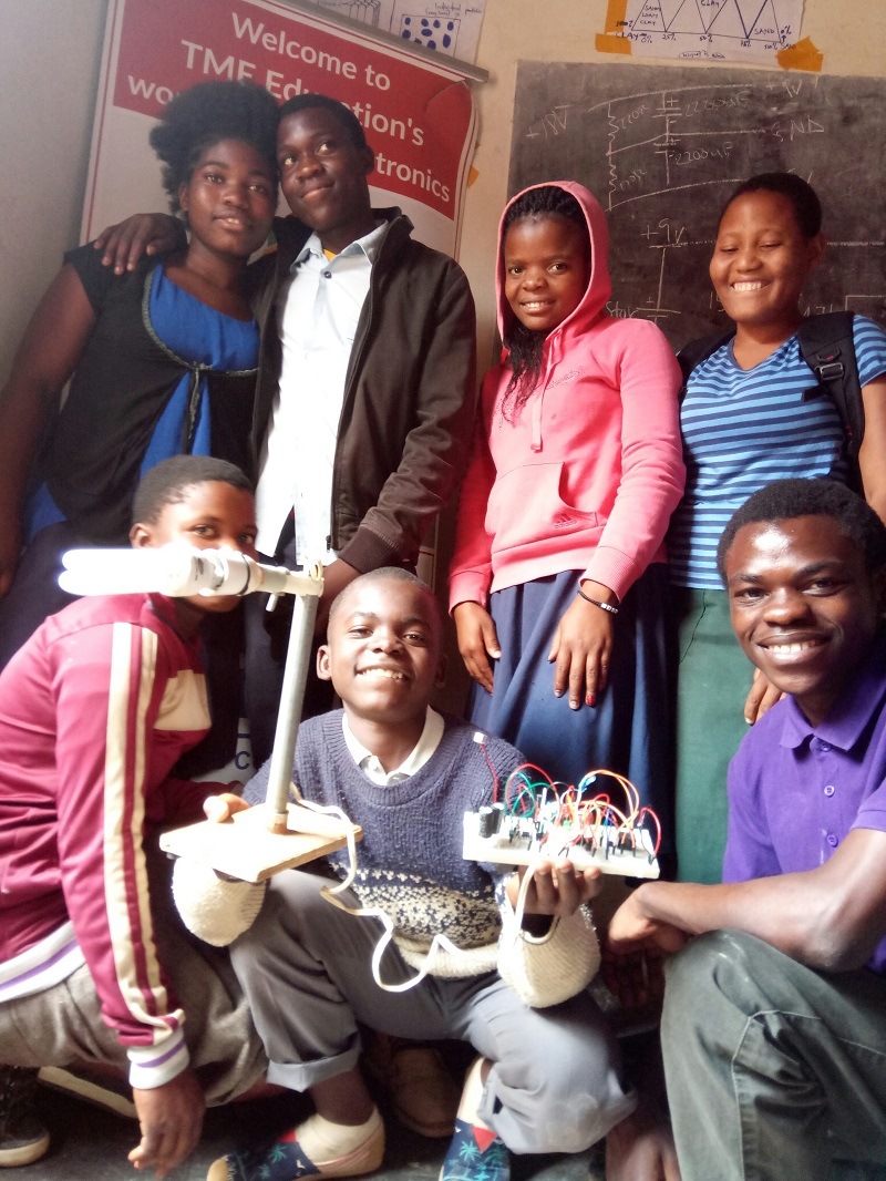 Report: Training  at REPO Private Secondary School in Mpingwe, Malawi.