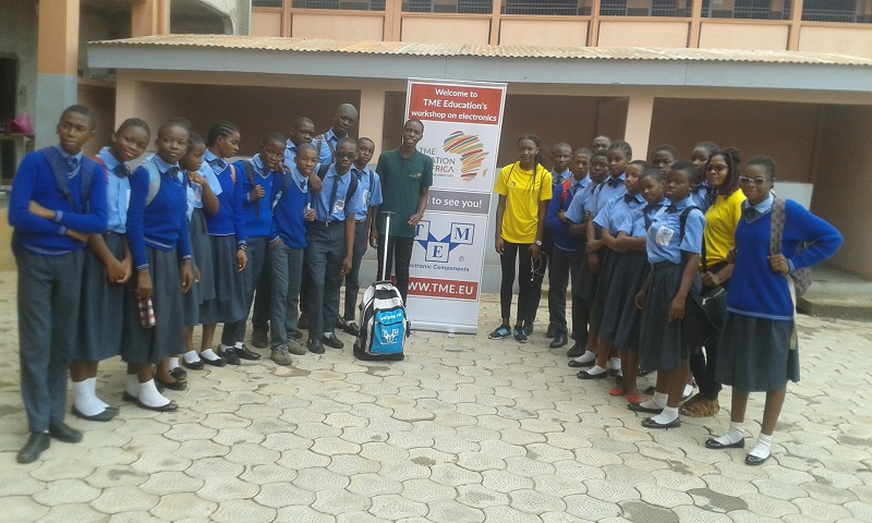 October Training at Mgr Henri Vieter College, Yaounde, Cameroon.