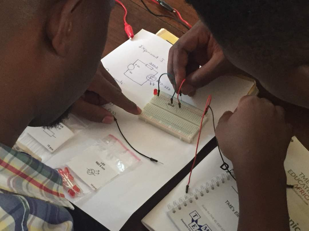 TME Education Electronics Club – a makers  space for students in Mtwara, Tanzania.