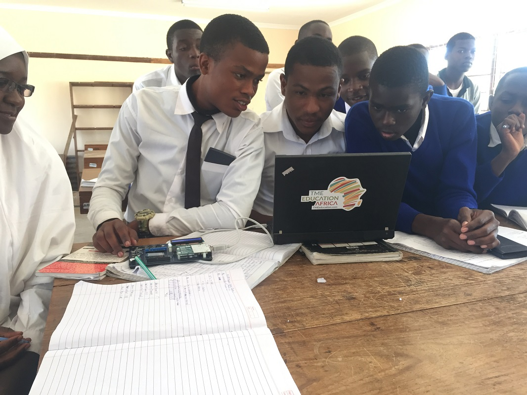 TME Education training at Ifunda Technical Secondary School