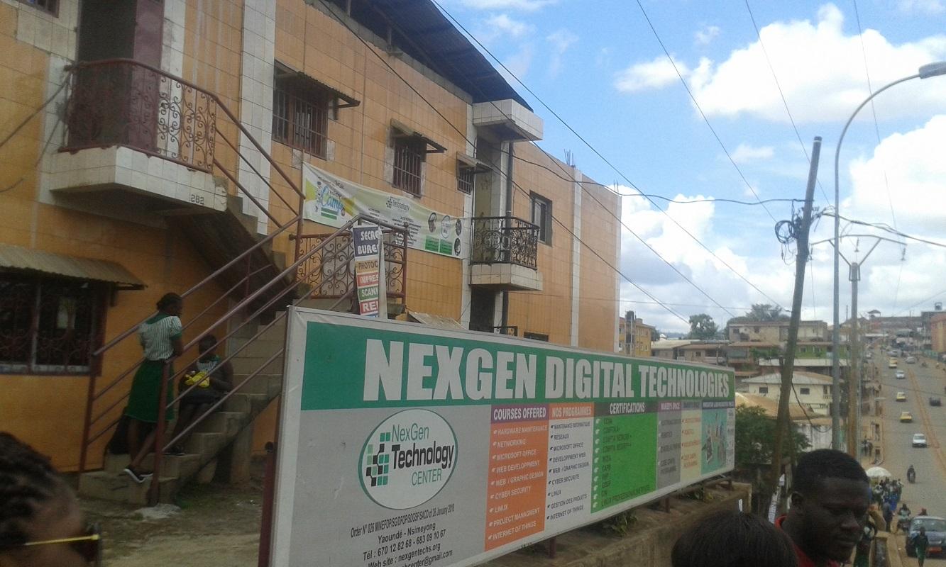 TME Education training at NexGen, Cameroon.