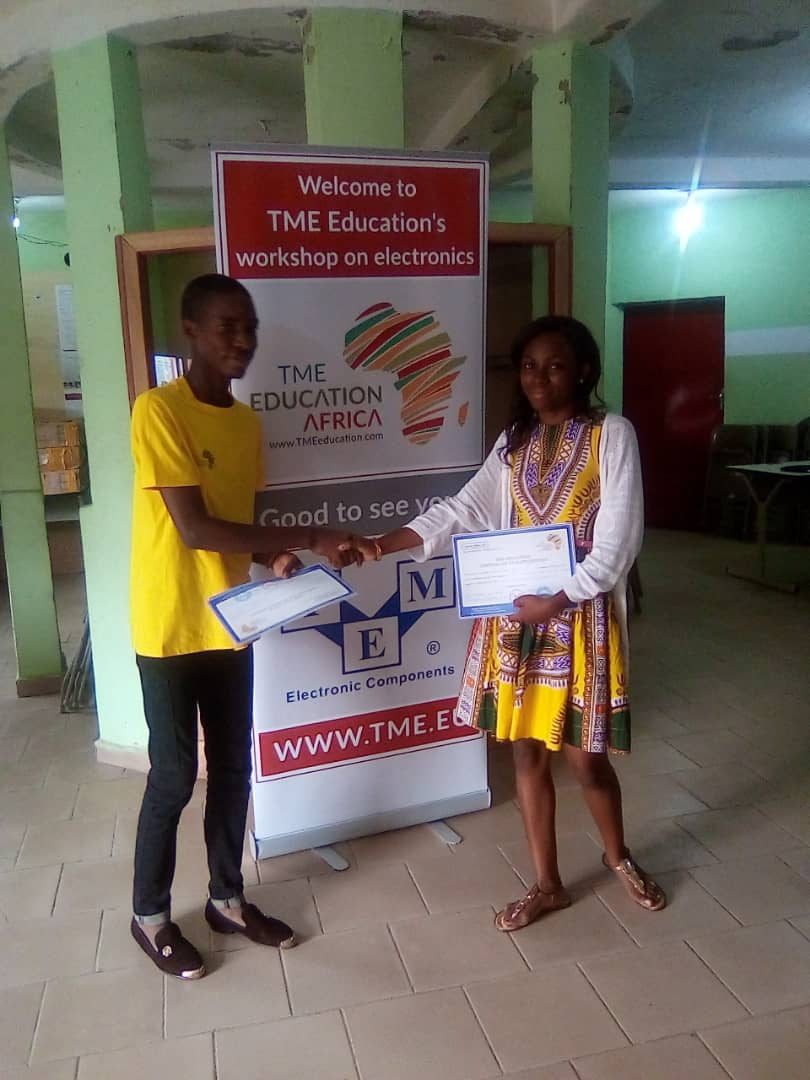 TME Education training at NexGen, Cameroon.