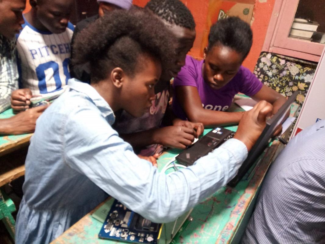 TME Education Training at NHTA, Kenya